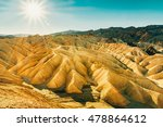 landscape of death valley... | Shutterstock . vector #478864612