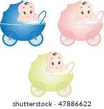 baby vector | Shutterstock .eps vector #47886622