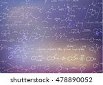 a lot of recondite chemical... | Shutterstock .eps vector #478890052