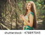 smiling ukrainian woman | Shutterstock . vector #478897045