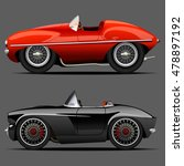 vector modern cartoon car ... | Shutterstock .eps vector #478897192