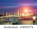 oil and gas industry   refinery ... | Shutterstock . vector #478910776