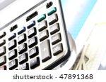 calculator | Shutterstock . vector #47891368