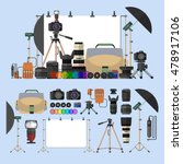 Vector Set Of Photography...