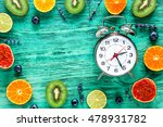 alarm clock   time to wake up... | Shutterstock . vector #478931782