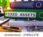 green office folder with... | Shutterstock . vector #478961278