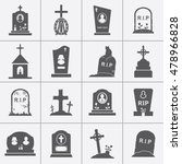 Gravestones And Tombstones...