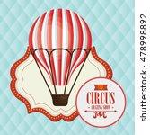 balloon basket circus icon | Shutterstock .eps vector #478998892