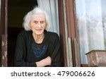 senior woman alone on her house ... | Shutterstock . vector #479006626