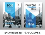 blue color scheme with city... | Shutterstock .eps vector #479006956