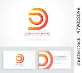 abstract shape logo design | Shutterstock .eps vector #479023096