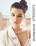 portrait of beautiful woman in... | Shutterstock . vector #479023372