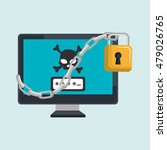 technology icon design | Shutterstock .eps vector #479026765