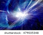 stars  dust and gas nebula in a ... | Shutterstock . vector #479035348