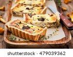 chanterelle mushroom  cheese...   Shutterstock . vector #479039362