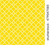 seamless abstract yellow tile... | Shutterstock .eps vector #479047585
