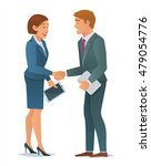 concept of business people ... | Shutterstock .eps vector #479054776