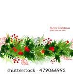 christmas seamless ornament ... | Shutterstock .eps vector #479066992
