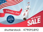columbus day. sale template... | Shutterstock .eps vector #479091892