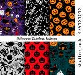 different halloween vector... | Shutterstock .eps vector #479131012