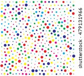 abstract color dot background | Shutterstock .eps vector #479131966