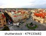 red roofs in prague czech... | Shutterstock . vector #479133682
