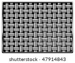 pattern of metal grid as black... | Shutterstock .eps vector #47914843