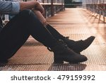 close up view on man's legs in... | Shutterstock . vector #479159392