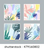 set of creative universal... | Shutterstock .eps vector #479160802