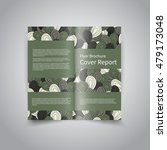 vector two fold brochure design ... | Shutterstock .eps vector #479173048