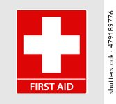 first aid sign vector... | Shutterstock .eps vector #479189776