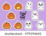 halloween fashion quirky... | Shutterstock .eps vector #479194642