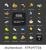 color icons set in flat... | Shutterstock .eps vector #479197726