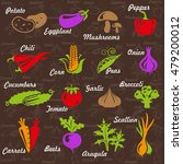 illustration of vegetables... | Shutterstock . vector #479200012