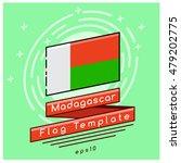 Madagascar Flag    Flag Icon...