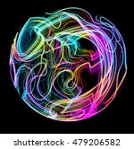 moving colorful lines of... | Shutterstock .eps vector #479206582
