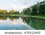 beautiful summer sunset at the... | Shutterstock . vector #479212492