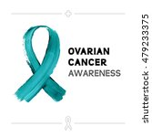 colorful ovarian cancer... | Shutterstock .eps vector #479233375