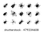 pests and various insects set... | Shutterstock .eps vector #479234608