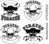 vector illustration pirate... | Shutterstock .eps vector #479239312