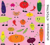 a lot of vegetables. vector... | Shutterstock .eps vector #479247946