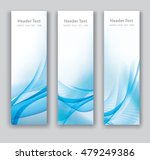 abstract header vertical blue... | Shutterstock .eps vector #479249386