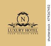 luxury logo template in vector... | Shutterstock .eps vector #479267452