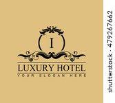luxury logo template in vector... | Shutterstock .eps vector #479267662