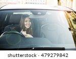 portrait of beautiful asian... | Shutterstock . vector #479279842