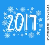 happy new year 2017 abstract... | Shutterstock .eps vector #479284156
