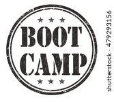 boot camp grunge rubber stamp... | Shutterstock .eps vector #479293156