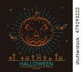 line art vector illustration... | Shutterstock .eps vector #479293222