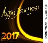 happy new year colorful... | Shutterstock .eps vector #479301418