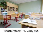 interior of an empty school... | Shutterstock . vector #479309455